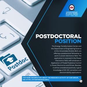 Postdoc ETCenter