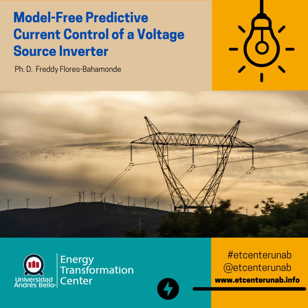 Model-Free Predictive Current Control of a Voltage Source Inverter